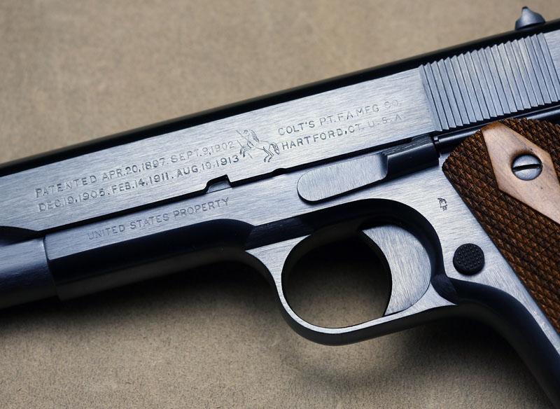WTT/WTS Beautifully restored WWI Colt 1911 - SPF - Calguns net