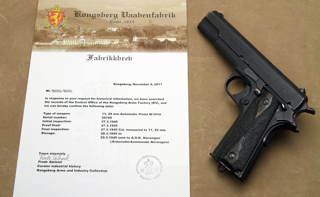 How to Trace Nazi Serial Numbers? [Archive] - Calguns net